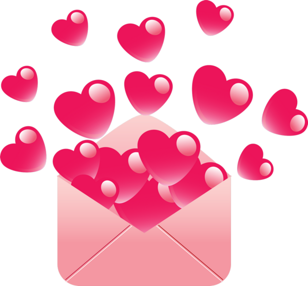 Transparent Drawing Valentine S Day Cartoon Pink Heart for Valentines Day