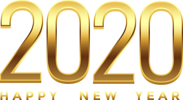 New Year 2020 Text Font Line For Happy New Year 2020 For New Year 2304x1262