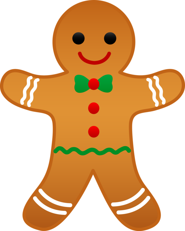 Transparent The Gingerbread Man Gingerbread Man Gingerbread Food for Christmas