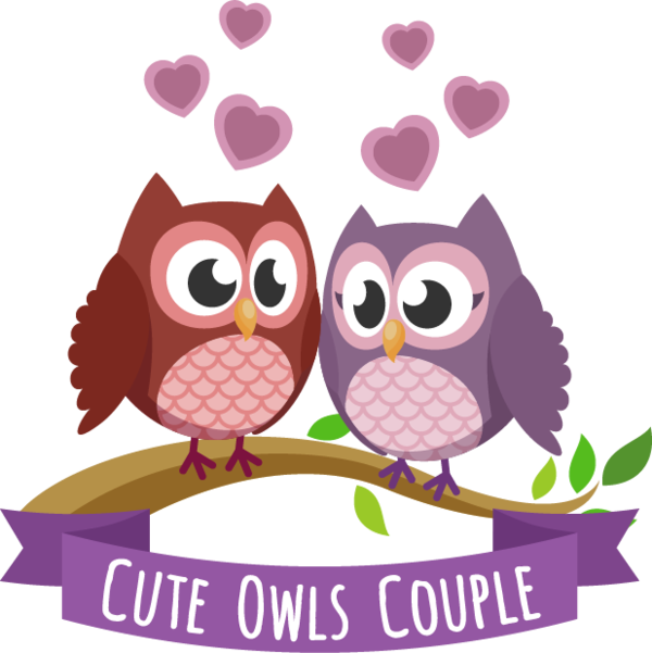 Transparent Owl Barn Owl Little Owl Pink for Valentines Day