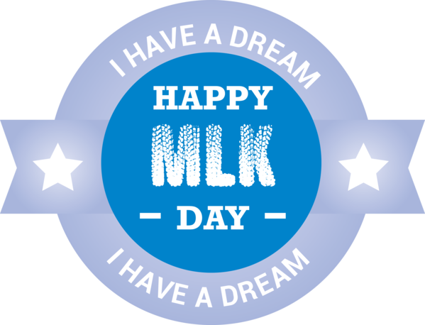Transparent Martin Luther King Jr. Day Logo Text Font for MLK Day for Martin Luther King Jr Day