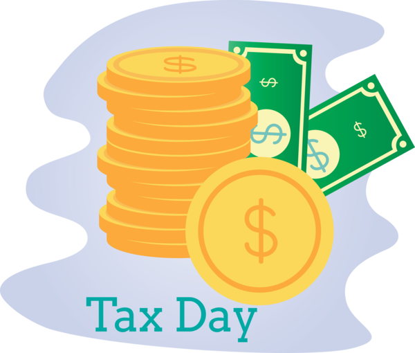 Transparent Tax Day Line Games for 15 April for Tax Day