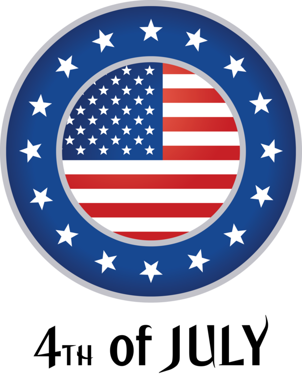 Transparent US Independence Day Flag of the united states Flag Logo for 4th Of July for Us Independence Day
