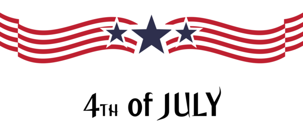 Transparent US Independence Day Flag Logo Line for 4th Of July for Us Independence Day