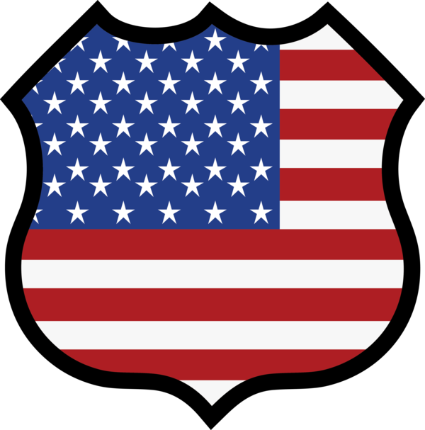 Transparent US Independence Day Flag Flag of the united states Shield for 4th Of July for Us Independence Day