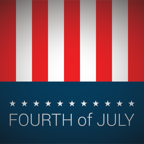 Transparent US Independence Day Text Flag Font for 4th Of July for Us Independence Day