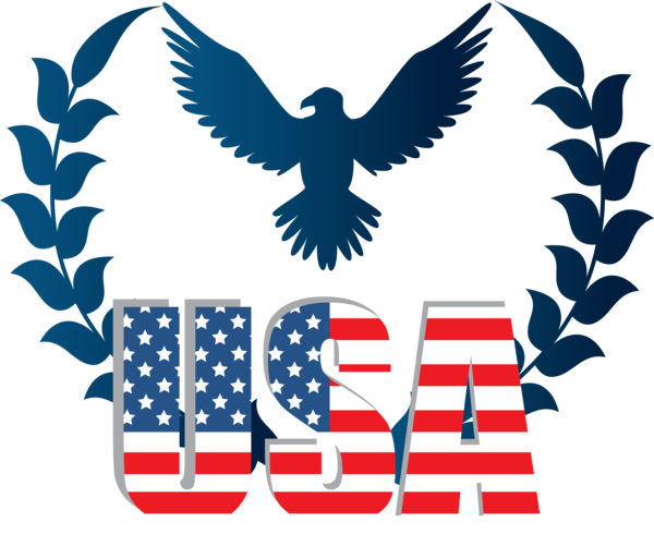 Transparent US Independence Day Wing Eagle Logo for 4th Of July for Us Independence Day