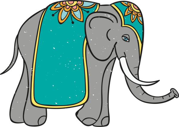 Diwali Indian Elephant African Elephants Elephant For Happy Diwali For Diwali 4787x3405 Elephant free download png resolution: holiday png