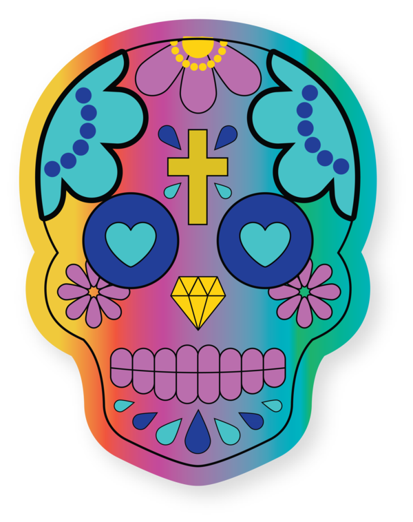 Transparent Cinco De Mayo Day of the Dead Drawing Calavera for Fifth of May for Cinco De Mayo