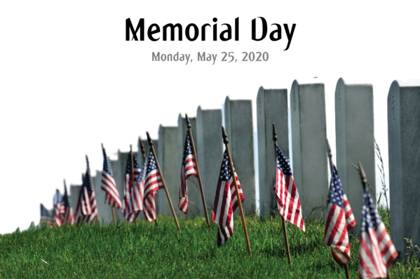 Transparent Memorial Day Memorial Day Veterans Day Memorial Day - County Offices Closed for US Memorial Day for Memorial Day