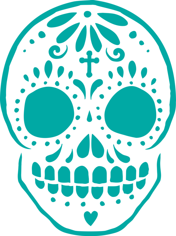 Transparent Day of the Dead Free Day of the Dead Calavera for Calavera for Day Of The Dead