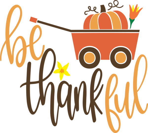 Transparent Thanksgiving Logo Cartoon Text for Give Thanks for Thanksgiving