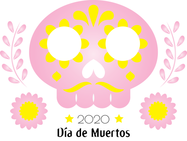 Transparent Day of the Dead Transparency Icon for Día de Muertos for Day Of The Dead