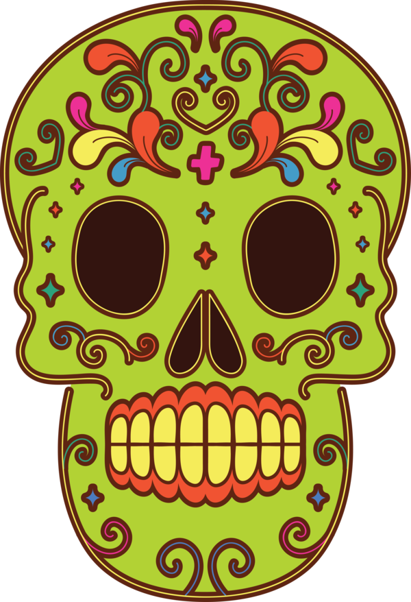 Transparent Day of the Dead Day of the Dead Visual arts Drawing for Calavera for Day Of The Dead