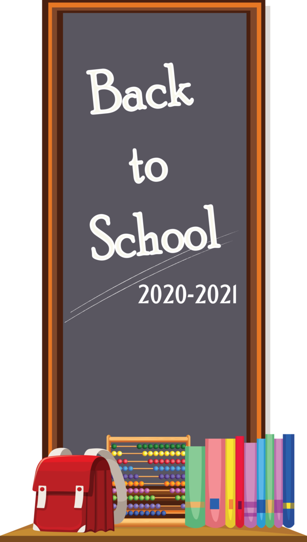 Transparent Back to School School Education Book for Welcome Back to School for Back To School