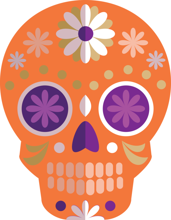 Transparent Day of the Dead Calavera Day of the Dead La Calavera Catrina for Calavera for Day Of The Dead