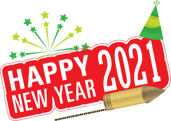Transparent New Year Logo Meter New Year's resolution for Happy New Year 2021 for New Year