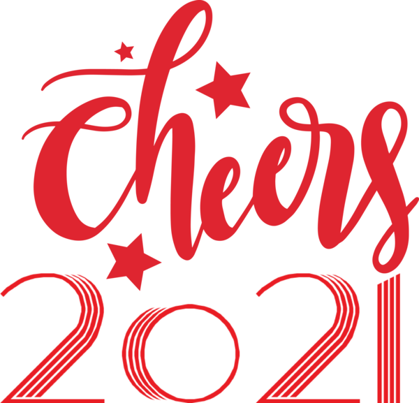 Transparent New Year Icon Cricut Logo for Happy New Year 2021 for New Year