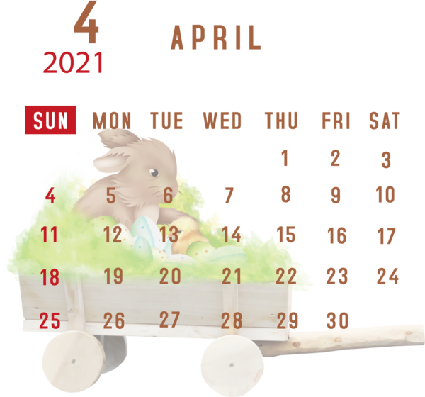 New Year Easter Bunny Line Meter for Printable 2021 ...