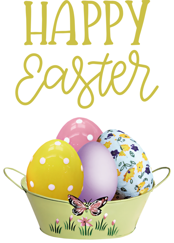 Transparent Easter Easter egg Yellow Meter for Easter Day for Easter