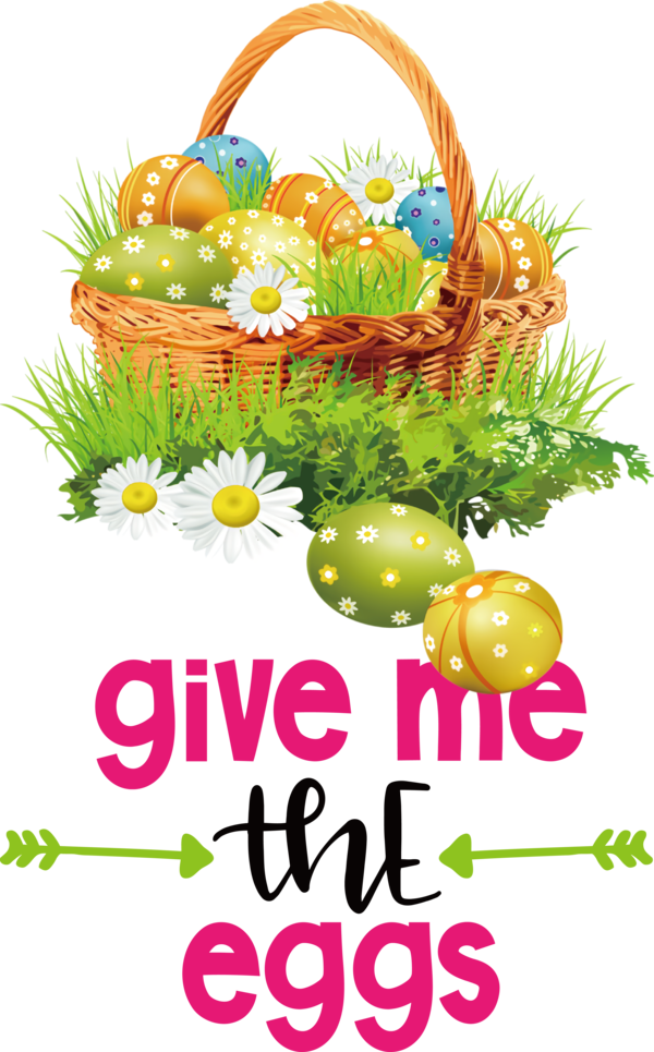 Transparent Easter Icon Transparency Easter Basket for Easter Day for Easter