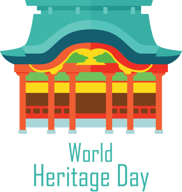 Transparent International Day For Monuments and Sites Façade Line Meter for World Heritage Day for International Day For Monuments And Sites