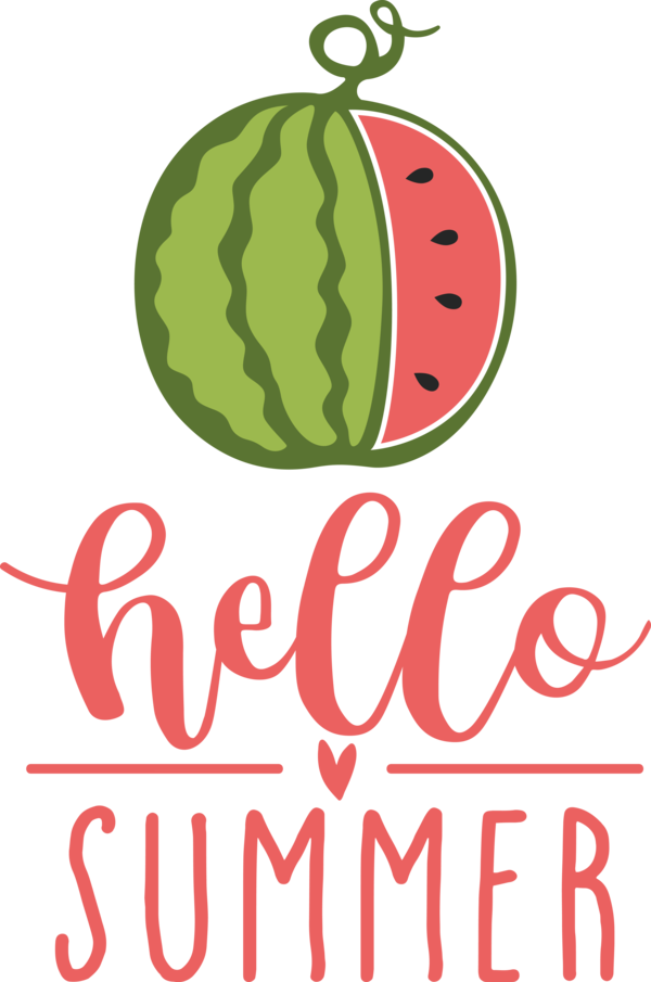 Transparent Summer Day Logo Superfood Produce for Hello Summer for Summer Day