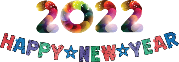 Transparent New Year Logo Shoe Fashion for Happy New Year 2022 for New Year